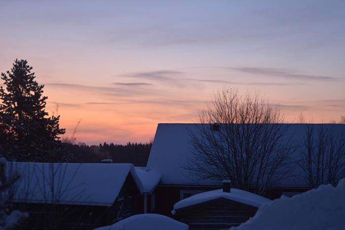 kall morgon