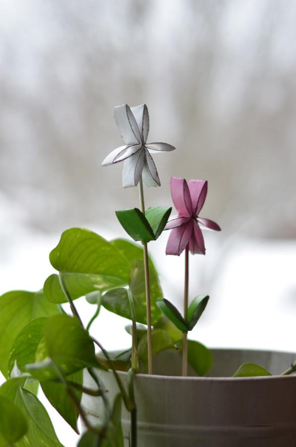 blompinnar