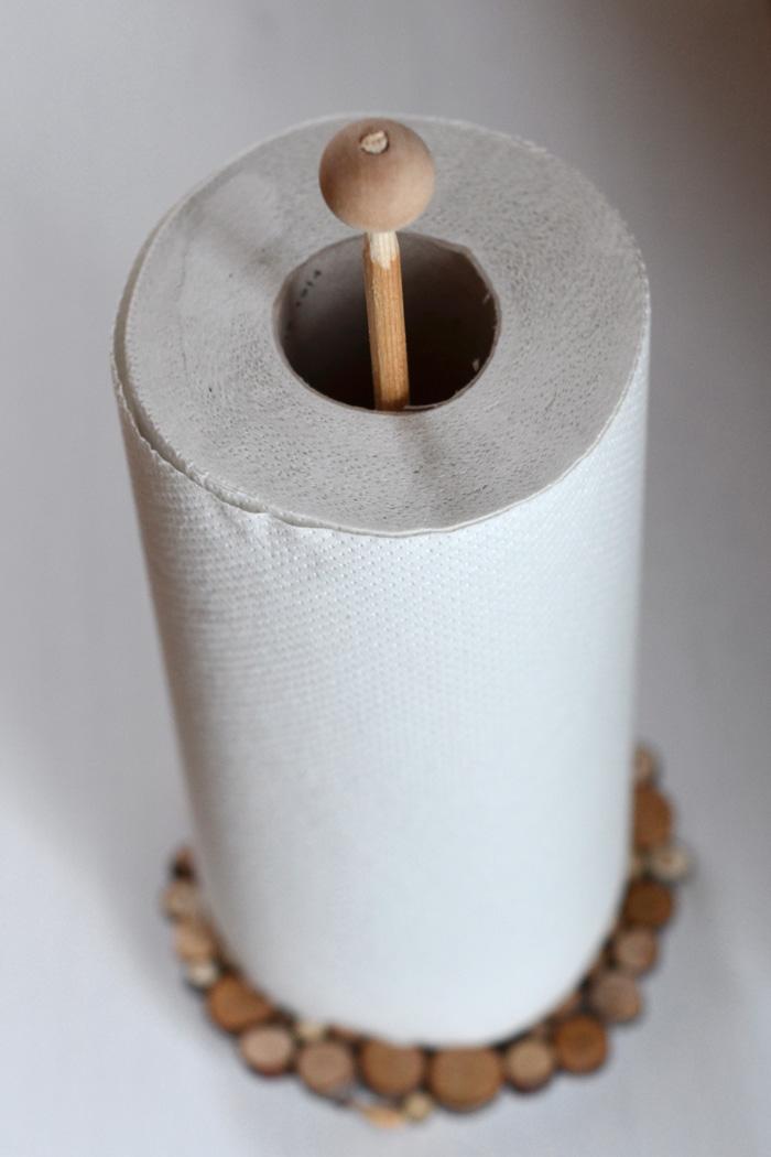 DIY hållare hushållspapper